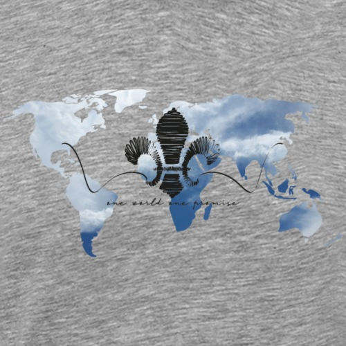 One World One Promise - Männer Premium T-Shirt