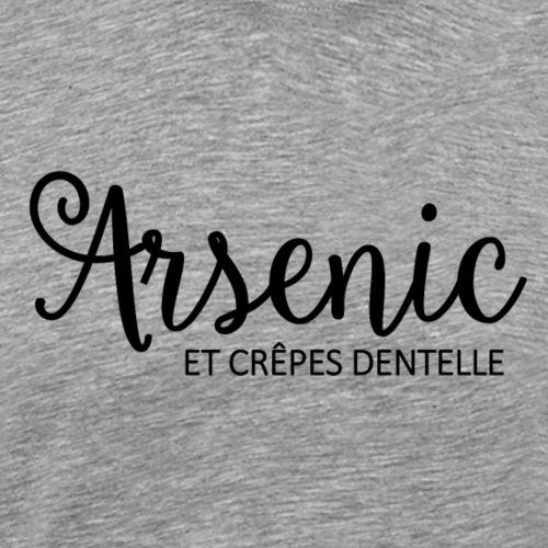 Bretagne - Arsenic et crêpes dentelle - T-shirt Premium Homme