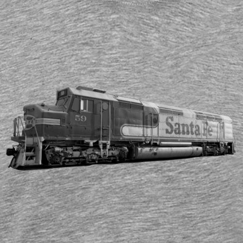 Lokomotive Santa Fe EMD F7 USA - Männer Premium T-Shirt