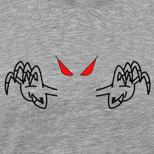 demone nero - Maglietta Premium da uomo