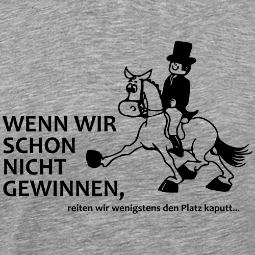 nicht gewinnen - Männer Premium T-Shirt