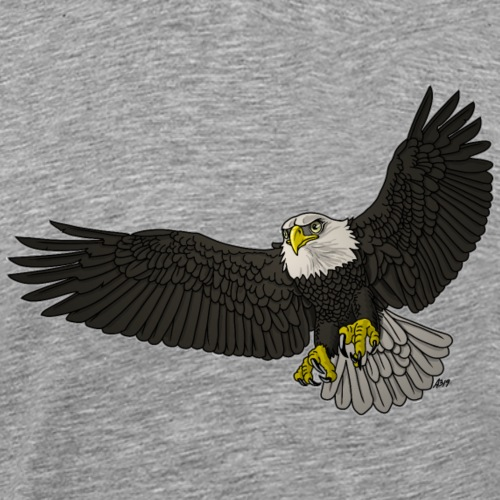 BaldEagle color - Mannen Premium T-shirt