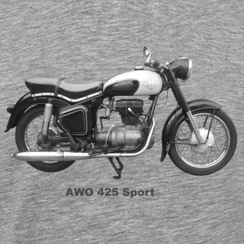 Simson AWO 425 Sport Oldtimer DDR Suhl Awtowelo - Männer Premium T-Shirt