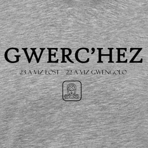 Bretagne - Gwerc'hez - Vierge - T-shirt Premium Homme