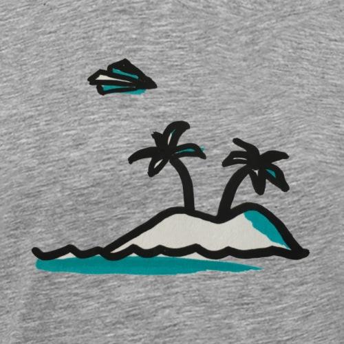 Island Living - Männer Premium T-Shirt