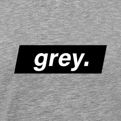grey - T-shirt Premium Homme