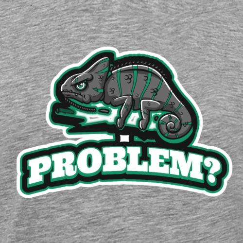 Problem Chame - Miesten premium t-paita
