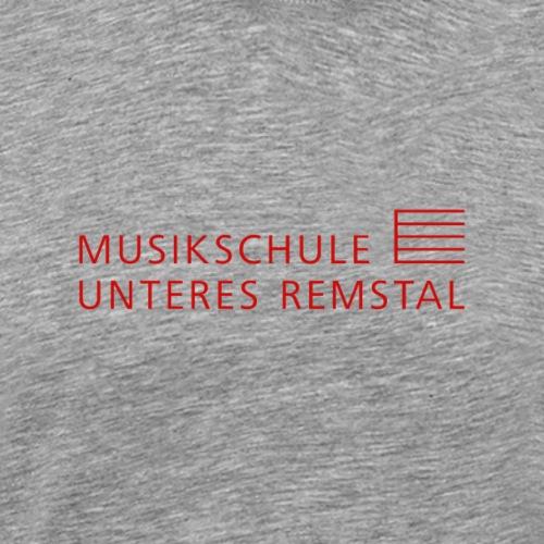 MSUR logo rot - Männer Premium T-Shirt