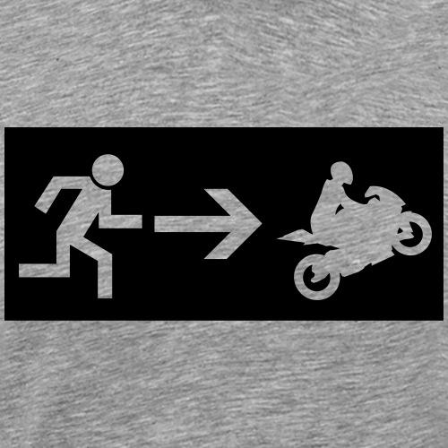 Notausgang Bike - Männer Premium T-Shirt