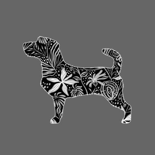 Flower JRT Wire - Miesten premium t-paita