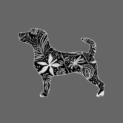 Flower JRT Smooth - Miesten premium t-paita