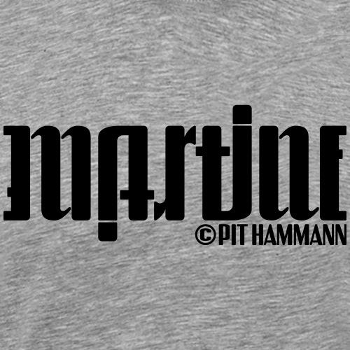 Ambigramm Martine 01 Pit Hammann