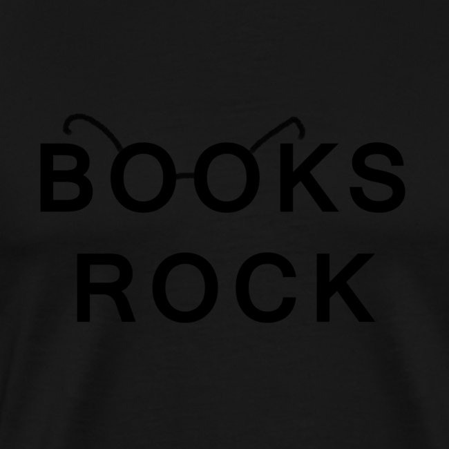 Books Rock Black