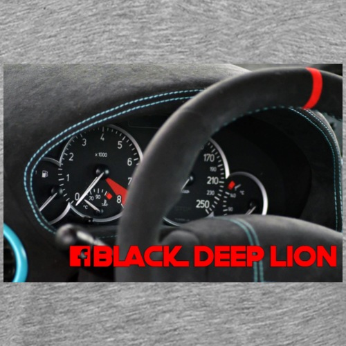 Black Deep Lion Package - Männer Premium T-Shirt