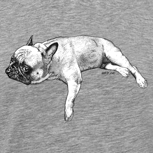 The Lazy Frenchie - T-shirt Premium Homme