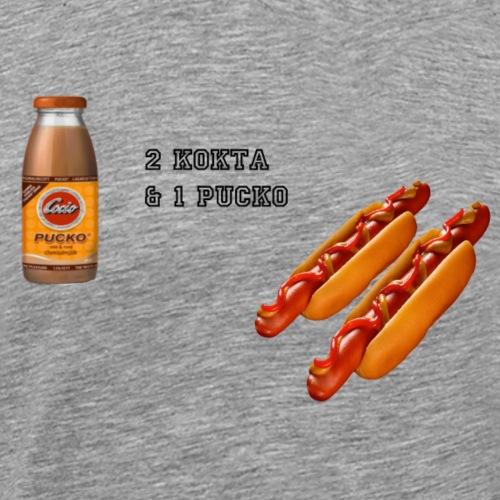 2KOKTA1PUCK - Premium-T-shirt herr