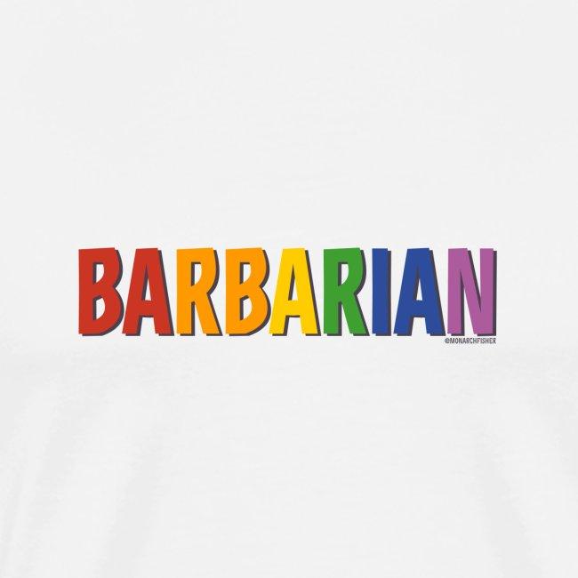 Barbarian Pride (Rainbow)