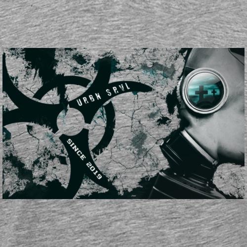 gas mask - Männer Premium T-Shirt