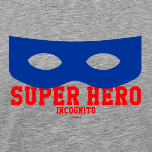 Super Hero incognito - Mannen Premium T-shirt