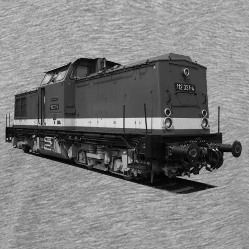 Lokomotive V 100 Diesel Deutsche Reichsbahn DDR - Männer Premium T-Shirt
