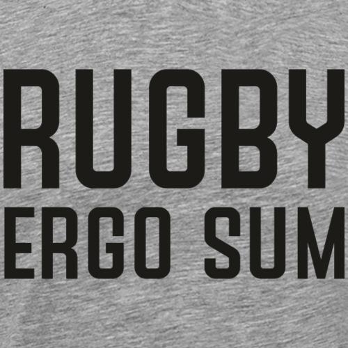 Marplo RugbyergosUM blk - Maglietta Premium da uomo