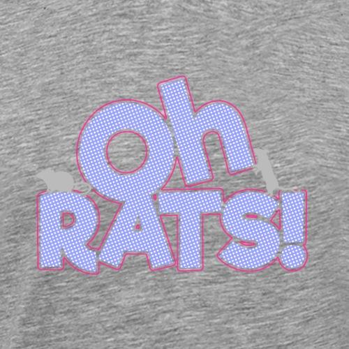 Oh Rats! Color - Miesten premium t-paita