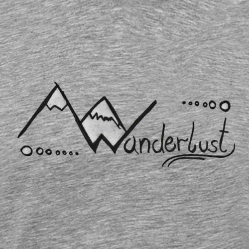Wanderlust - Männer Premium T-Shirt
