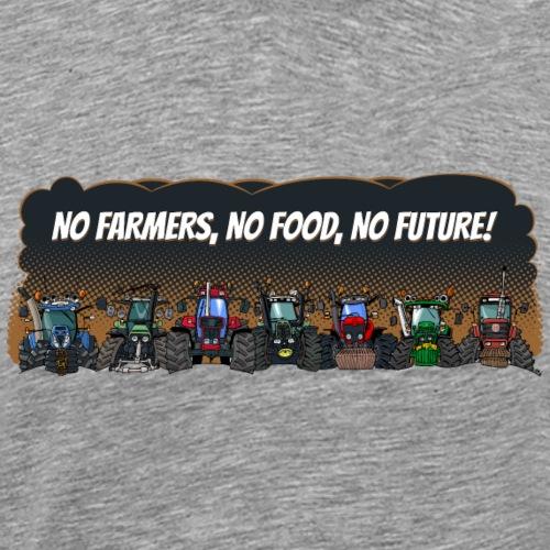 no farmers landscape - Mannen Premium T-shirt