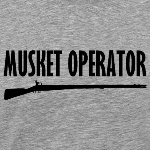 Musket Operator - Männer Premium T-Shirt