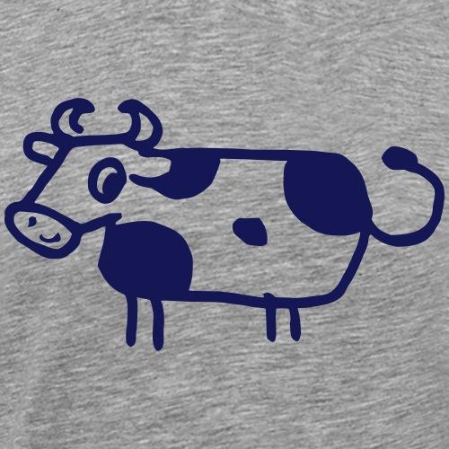 Drôle de BD vache drôle animal de ferme cadeau - T-shirt Premium Homme