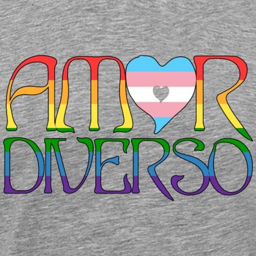 Amor Diverso - Camiseta premium hombre