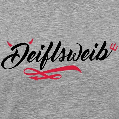 deiflsweib - Männer Premium T-Shirt