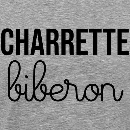Charrette biberon - T-shirt Premium Homme