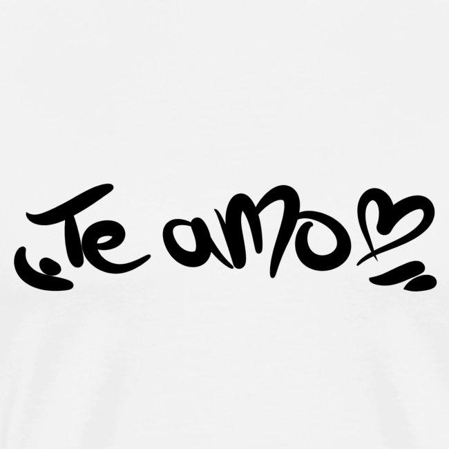 Lifestyle And More Te Amo Mit Herz Spanisch Ich Liebe Dich