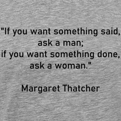 Margaret Thatcher - T-shirt Premium Homme