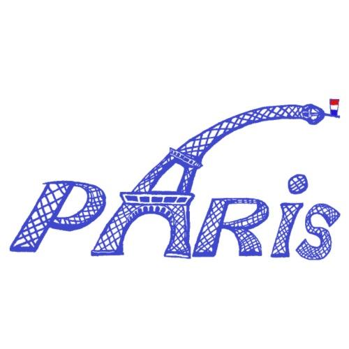Paris bleu - T-shirt Premium Homme
