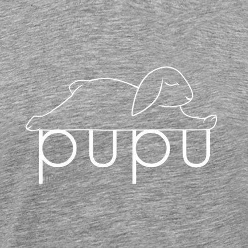 Pupu - IV - Miesten premium t-paita