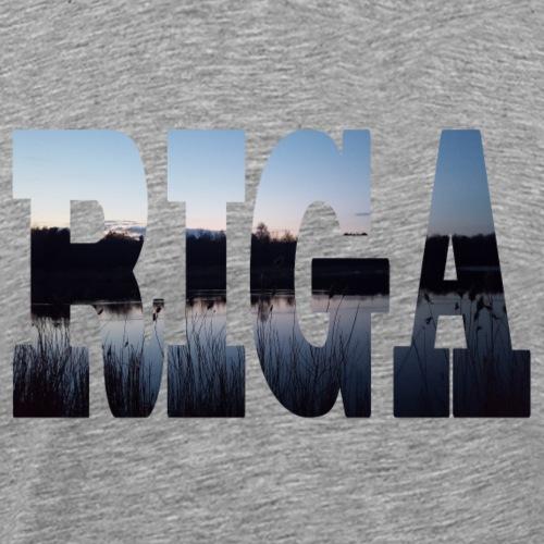 Riga - Männer Premium T-Shirt