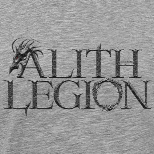 Alith Legion Dragon Logo - Men's Premium T-Shirt