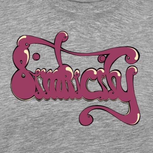 Simplicity Print - Männer Premium T-Shirt