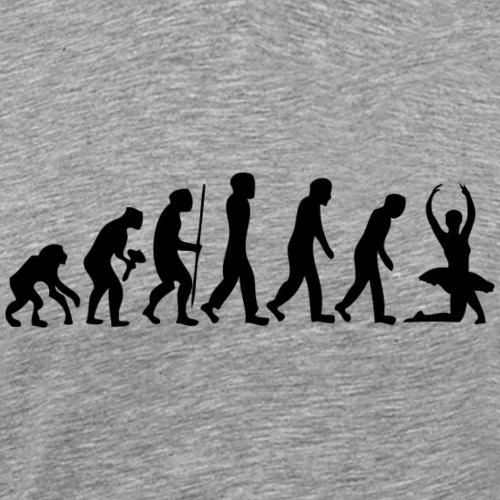 évolution danse - T-shirt Premium Homme