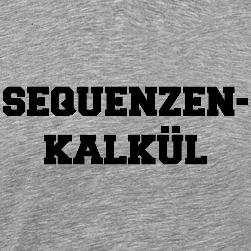 Sequenzenkalkül - Männer Premium T-Shirt