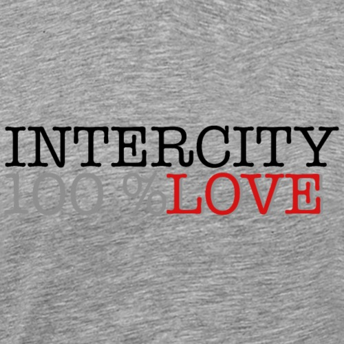 100 love - Herre premium T-shirt