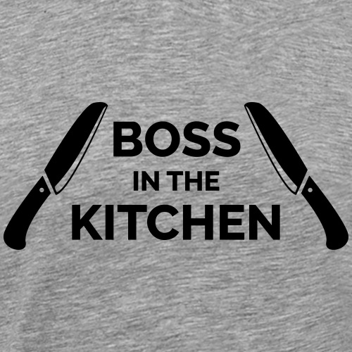 Boss in the Kitchen - Men's Premium T-Shirt