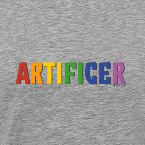 Artificer Pride (Rainbow) - Men's Premium T-Shirt