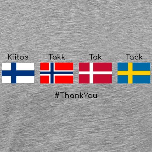 Merci - T-shirt Premium Homme