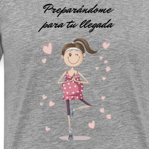 Camisetas para mujeres embarazadas - Camiseta premium hombre