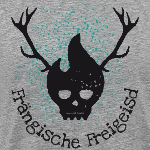 Frängische Freigeisd - Männer Premium T-Shirt