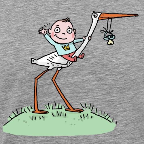 Klapperstorch - Männer Premium T-Shirt