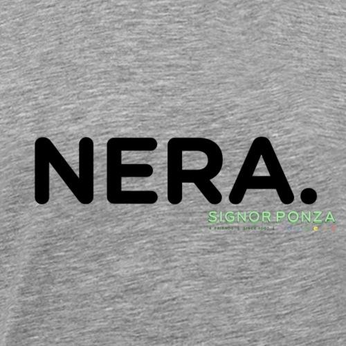 NERA. - Maglietta Premium da uomo